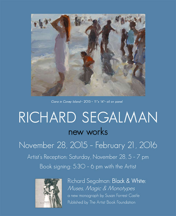 Richard Segalman: New Works
